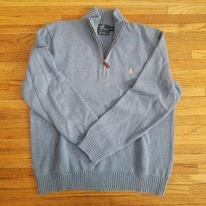 Vintage Ralph Lauren Polo Half Zip Sweater XL